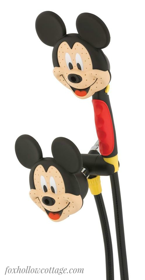 Disney Mickey Mouse Dual Shower Head by Oxygenics
