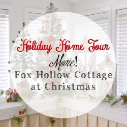 Holiday Home Tour: MORE Christmas at the Cottage