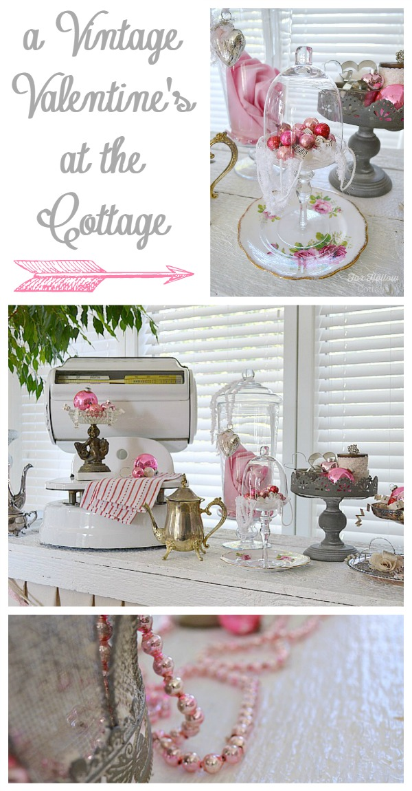 Valentine S Day Dollar Budget Decorating Ideas And Link Party Fox Hollow Cottage