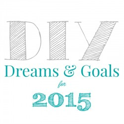 diy dreams and goals for 2015