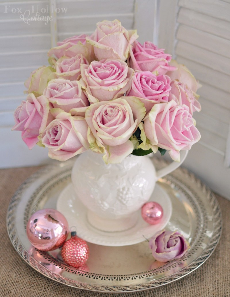 Pink Roses Valentine's Day 2015