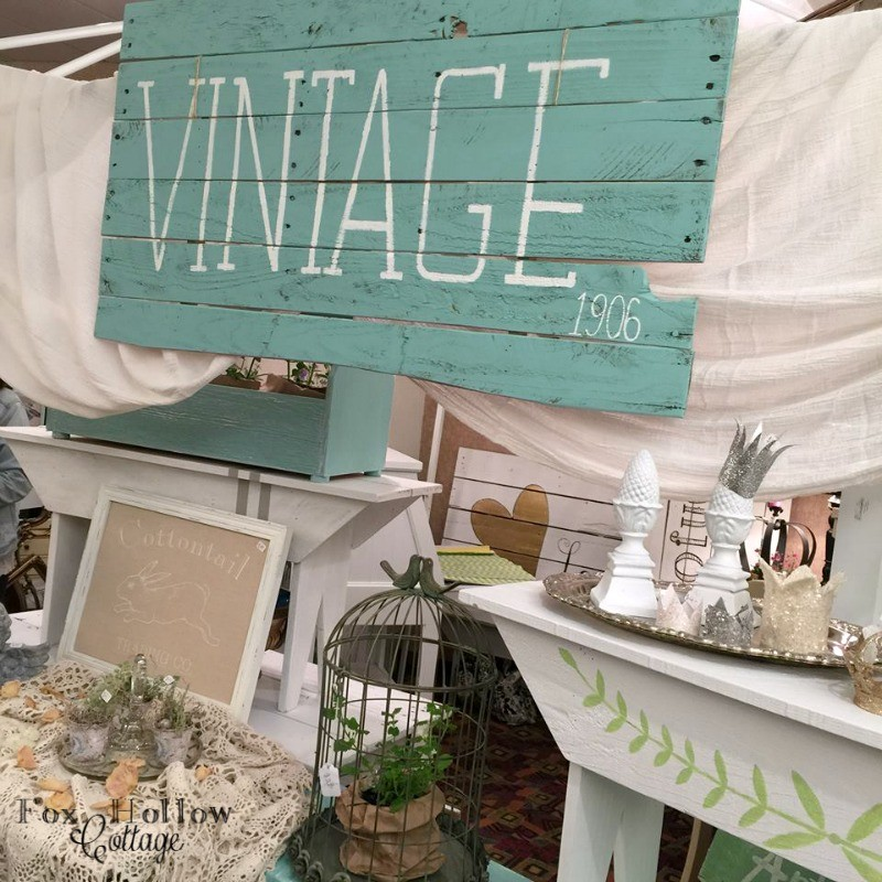 3 marshfield vintage market Spring show - coos bay north bend oregon - foxhollowcottage.com