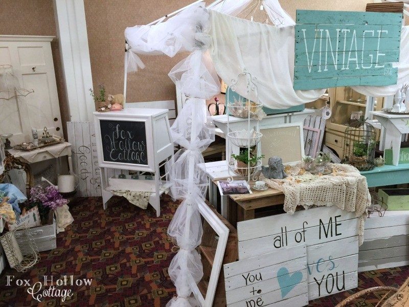 marshfield vintage market Spring show - coos bay north bend oregon - foxhollowcottage.com