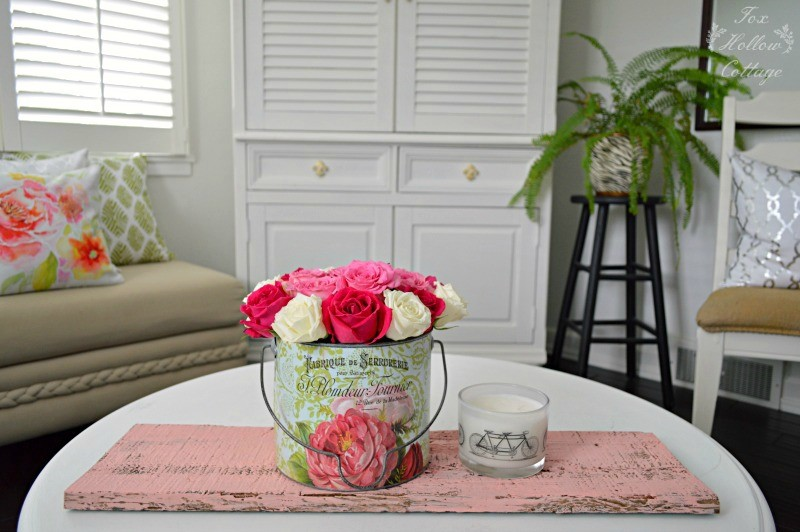 Cottage Home - Decorating with Roses