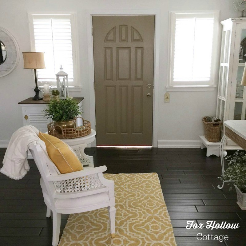 Current Front Door Color - foxhollowcottage