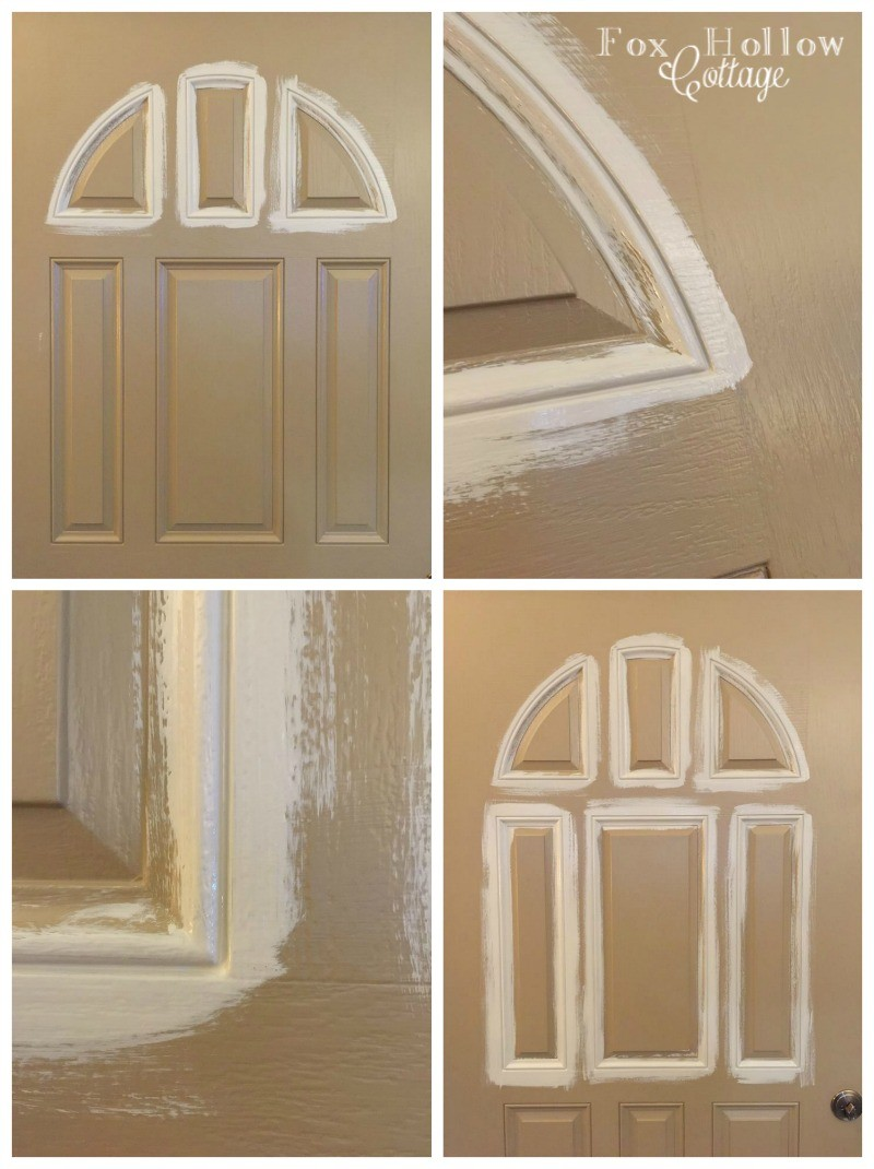 How To Paint a Door Quick and Easy foxhollowcottage 2