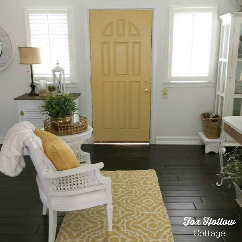 Sherwin Williams Color Visualizer - Anjou Pear - How to try a new paint color without buying samples or painting - save time money frustration - foxhollowcottage.com