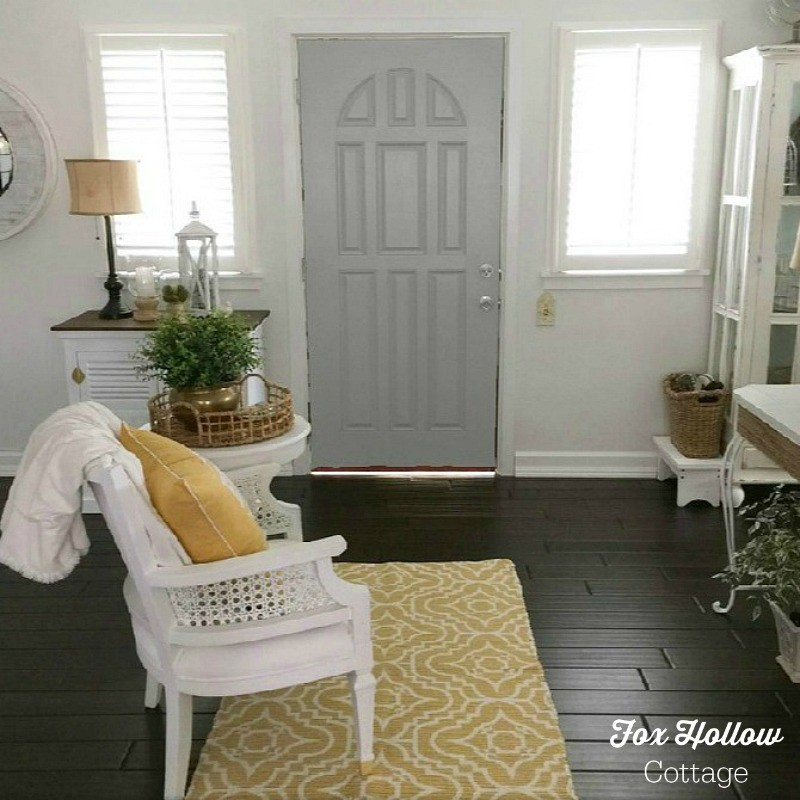 Sherwin Williams Color Visualizer - Classic French Grey - How to try a new paint color without buying samples or painting - save time money frustration - foxhollowcottage.com