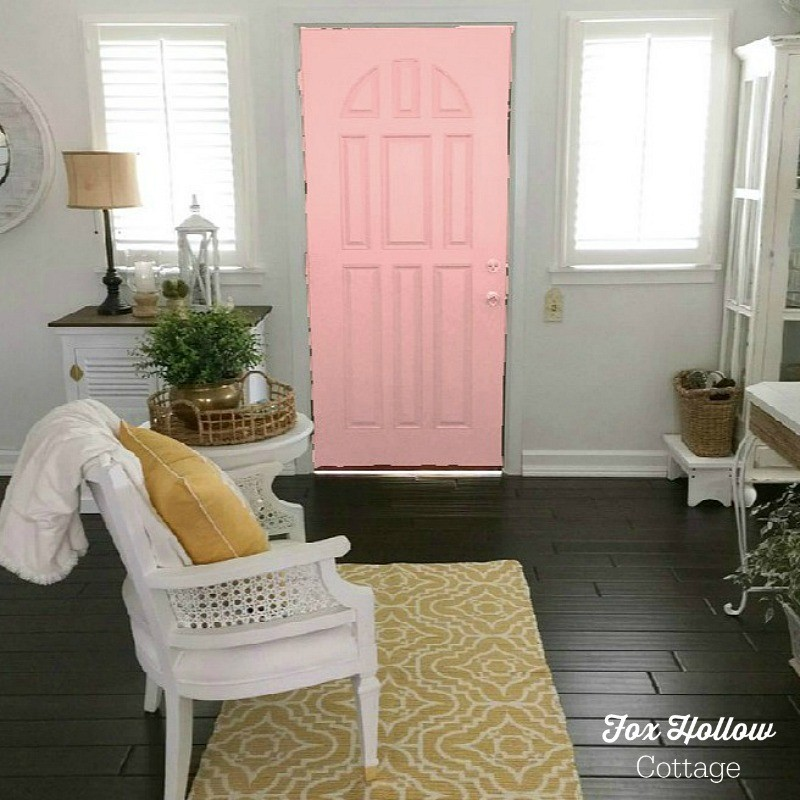 Sherwin Williams Color Visualizer - Hopeful - How to try a new paint color without buying samples or painting - save time money frustration - foxhollowcottage.com