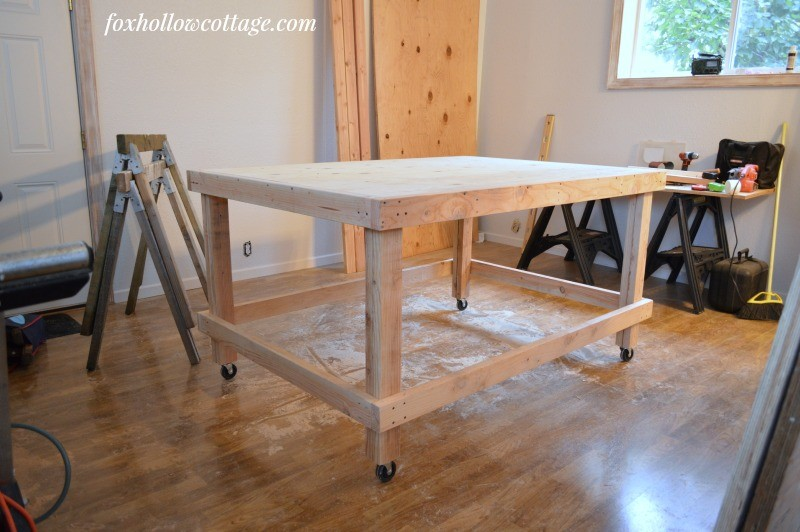 work shop at fox hollow cottage - during
