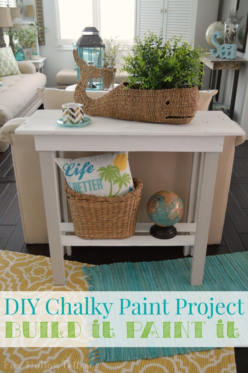 More Summer Decor and a DIY