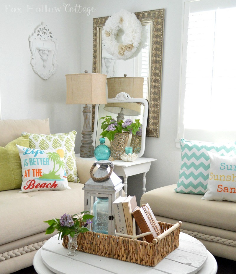 Summer Home Decor: Getting HomeGoods Happy With My Mom