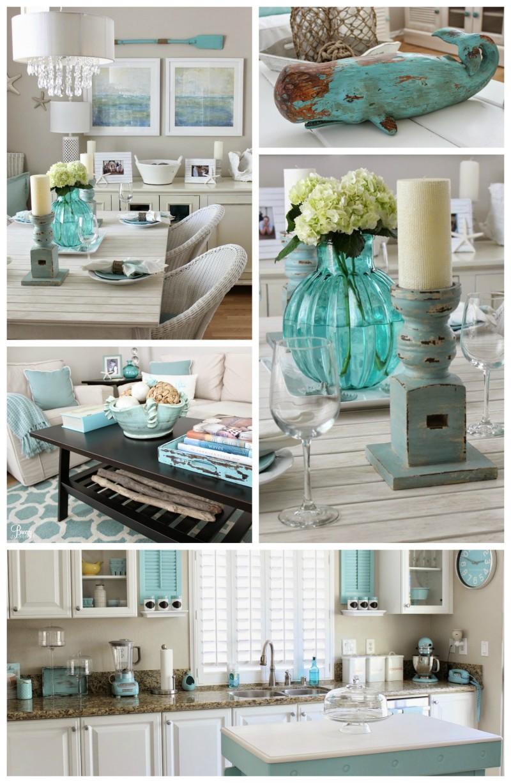 Beach Chic Coastal Cottage Home Tour with Breezy Design - Fox ...