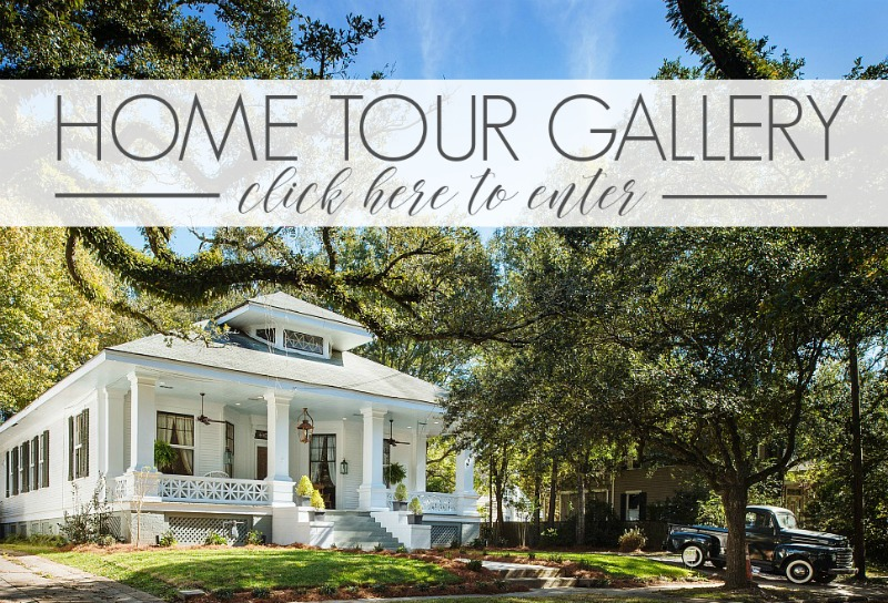 Inspiring collection of beautiful eclectic, vintage, historic, cottage, modern farmhouse home tours!