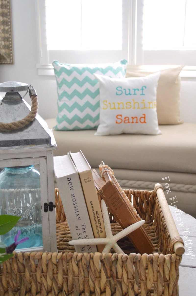 Surf Sunshine Sand Pillow Homegoods Home Decor Summer Decorating At Foxhollowcottage