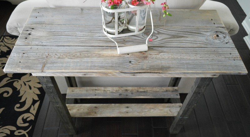 pallet wood reclaimed lumber table fox hollow cottage