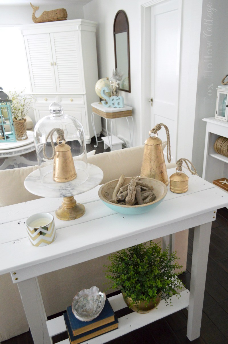 Beach Chic Coastal Home Decorating On A Budget foxhollowcottage 4 - Copy