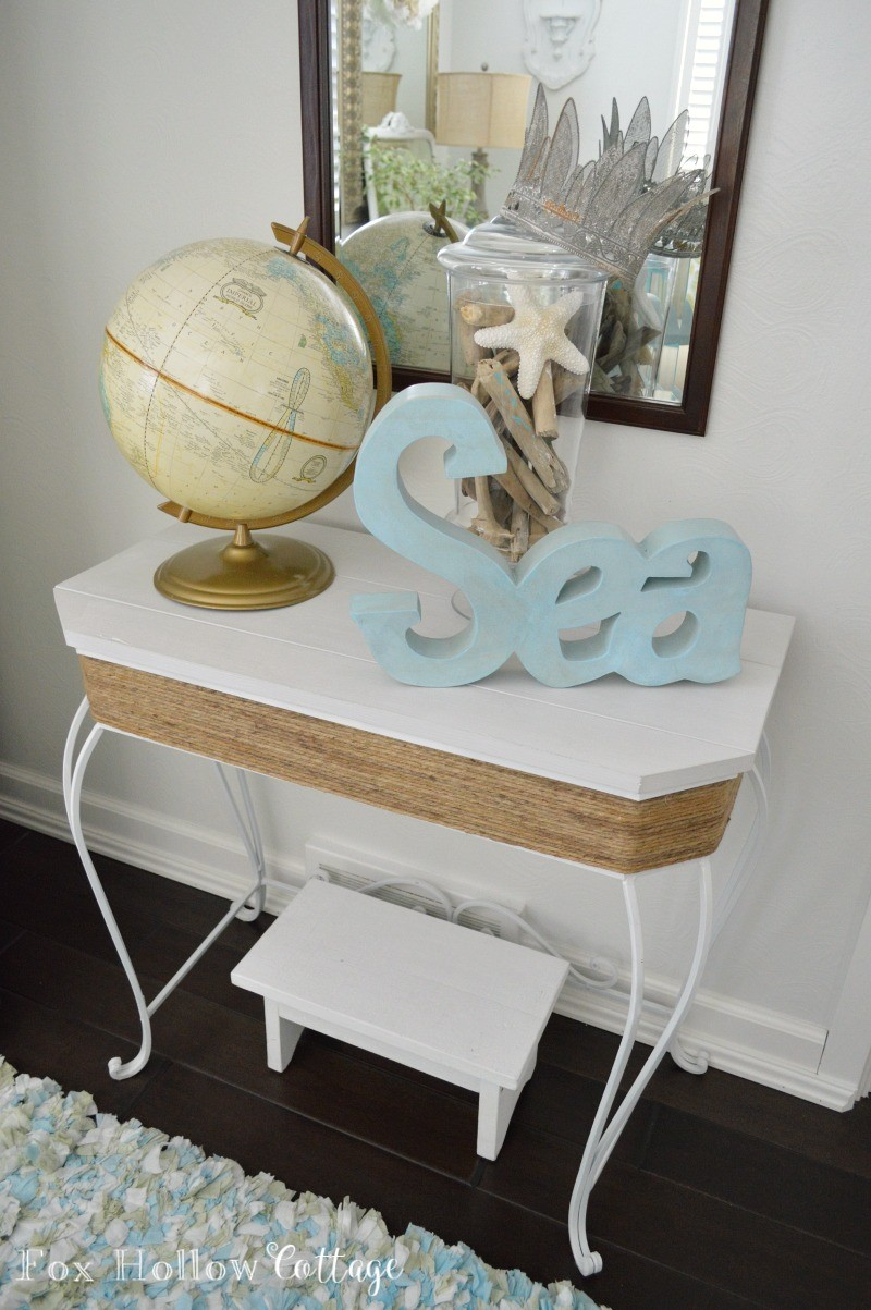 Beach Chic Coastal Home Decorating On A Budget foxhollowcottage 8