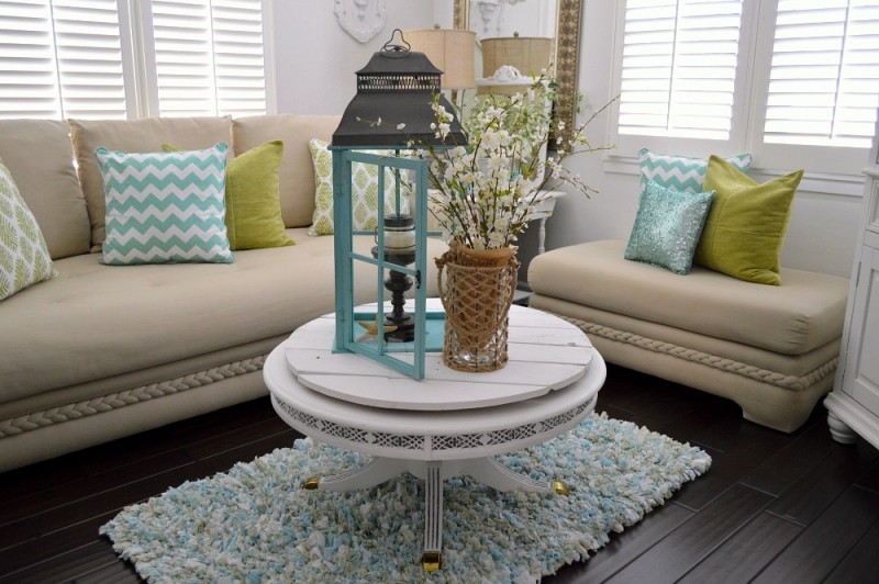 Beach Chic Coastal Home Decorating On A Budget foxhollowcottage 9