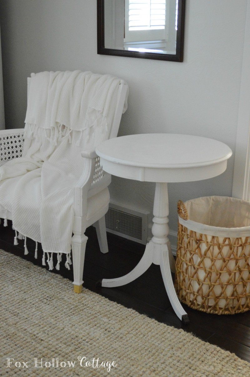 Before - Summer Decorating - Layering in Home Decor