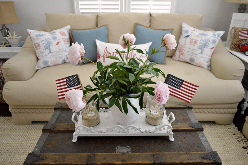 Coastal Summer Home Decorating foxhollowcottage