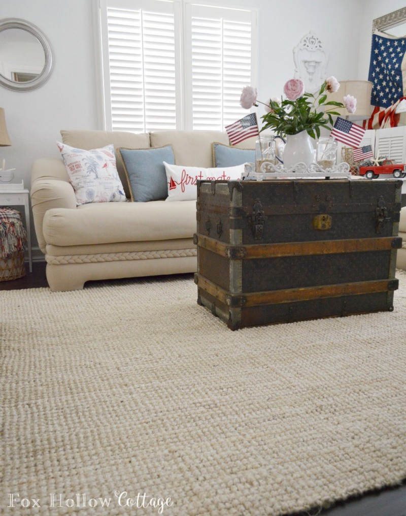 Coastal Summer Home - Maui Chunky Loop Jute from Rugs USA