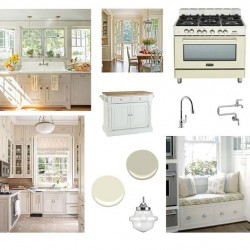 Southern Romance Kitchen Makeover Mood Board Inspiration