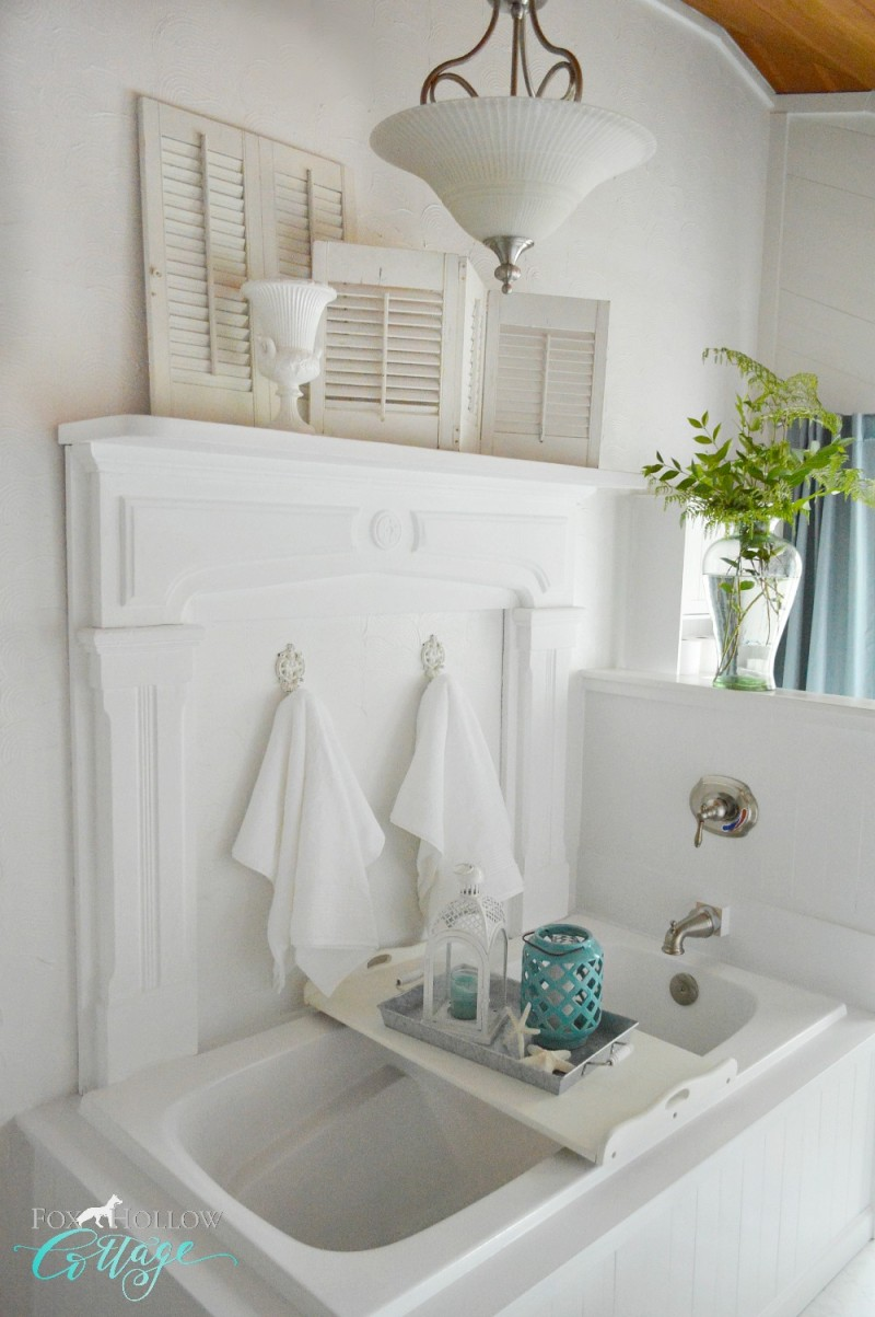 Better Homes And Gardens Bathrooms coastal cottage bathroom makeover  fox hollow cottage