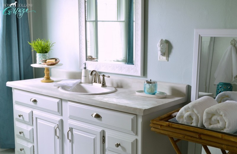 Great Bathrooms On A Budget: How To Makeover A Bathroom Without Remodeling