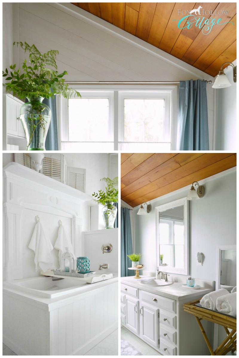 Coastal Cottage Bathroom Makeover