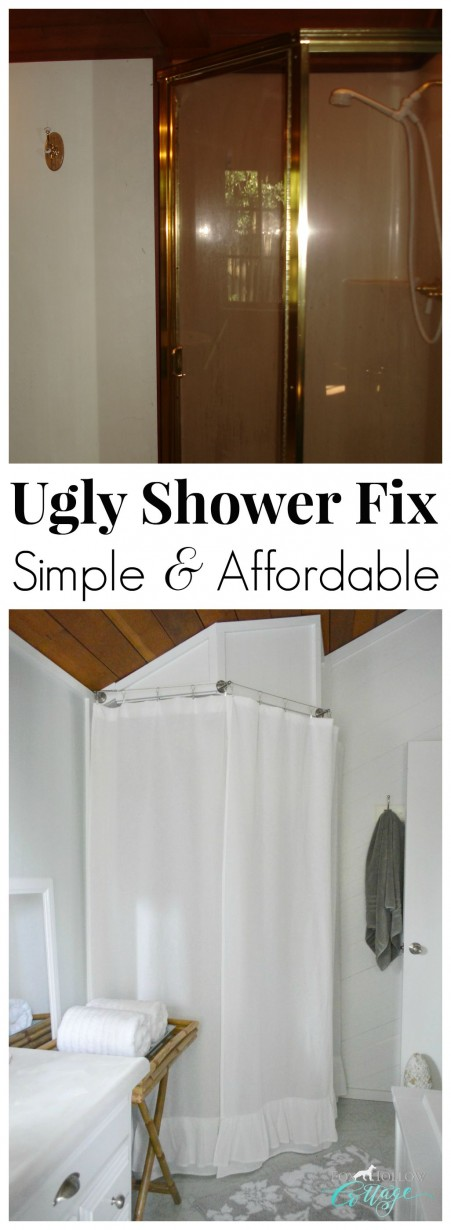 Simple DIY Ugly Corner Shower Fix Affordable Solutions
