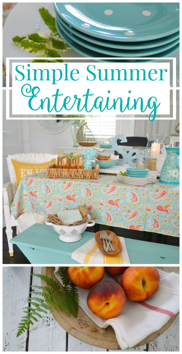 Tips And Ideas For Last Minute Summer Entertaining