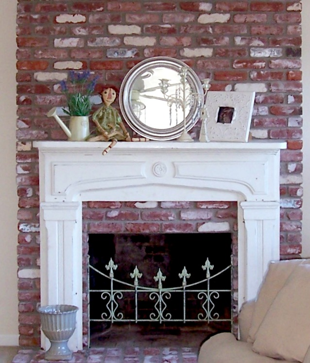 Nice Vintage Antique Fireplace Mantel