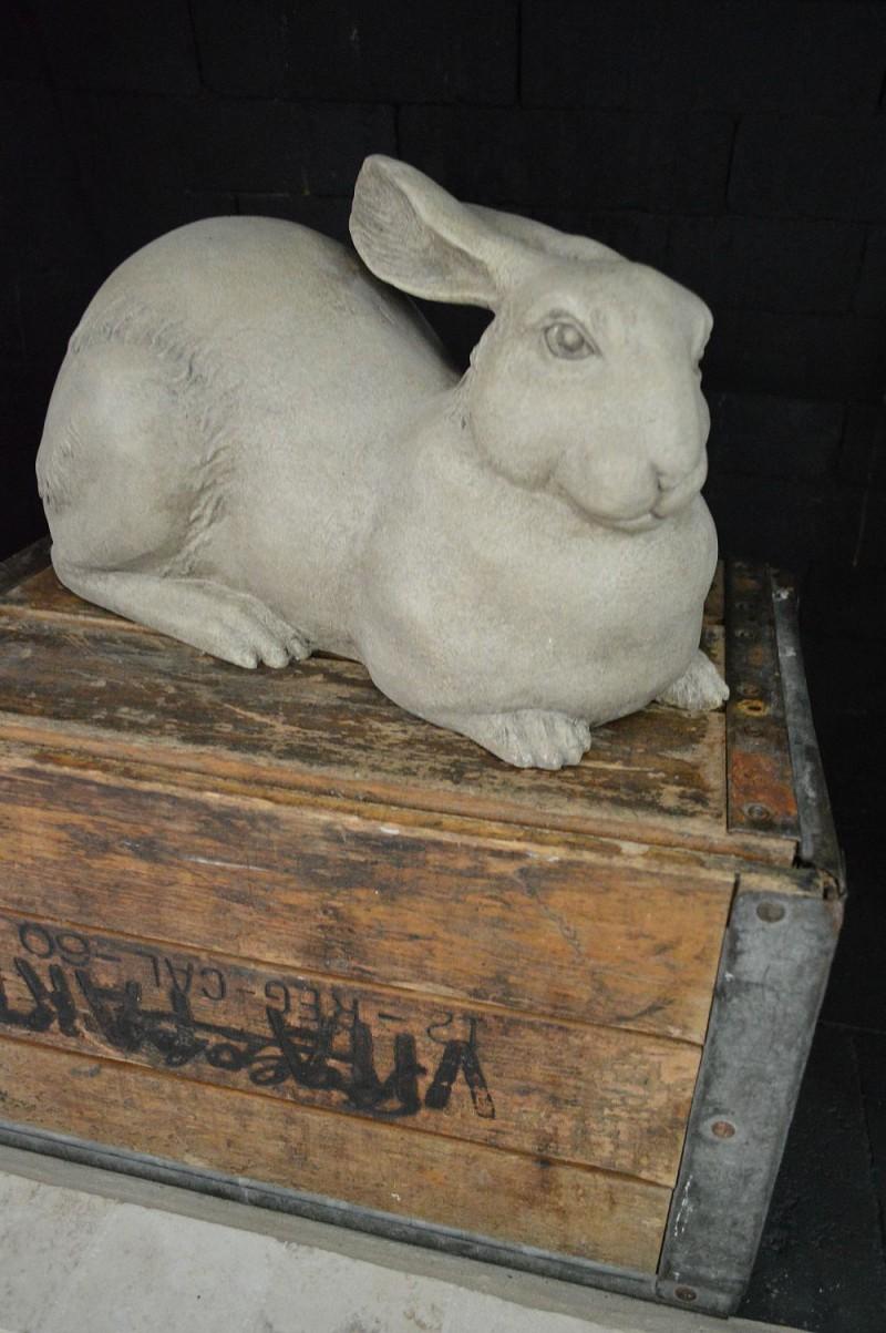 Bunny home decor - fall mantel - foxhollowcottage.com