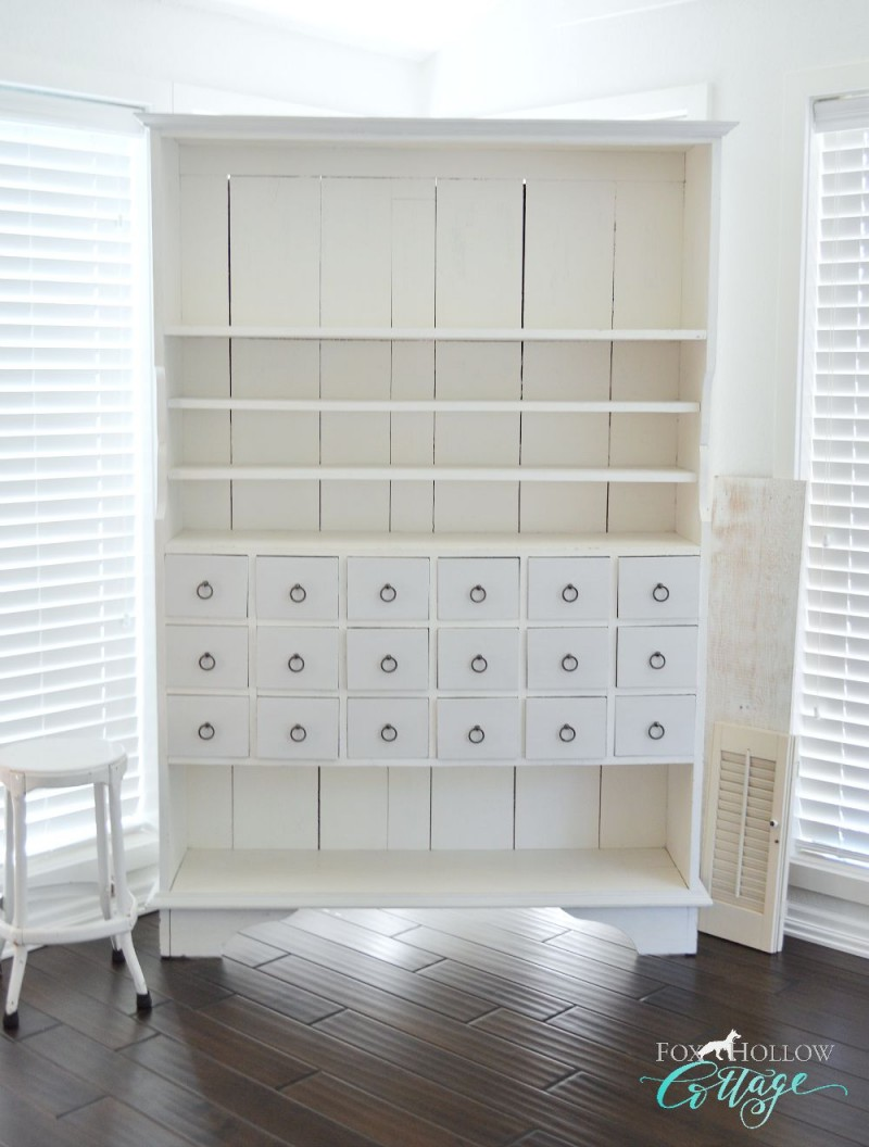 Apothecary Cabinet - foxhollowcottage.com