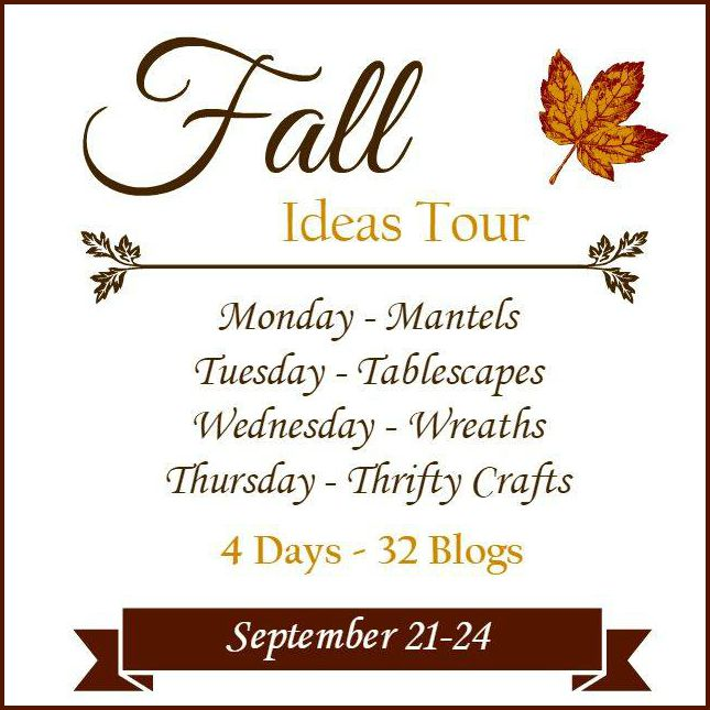 Fall Ideas Home Decorating Tour.