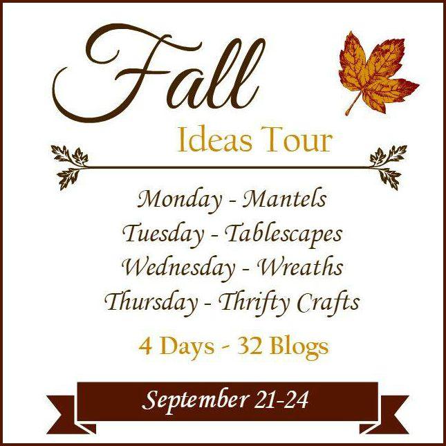 Fall Ideas Home Decorating Tour.