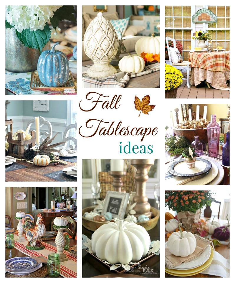 Fresh Fall Home Decorating Ideas Home Tour: Mantels And Tablescapes