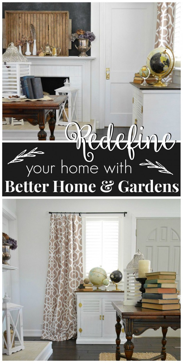 Redefine your home with help from Better Homes and Gardens foxhollowcottage
