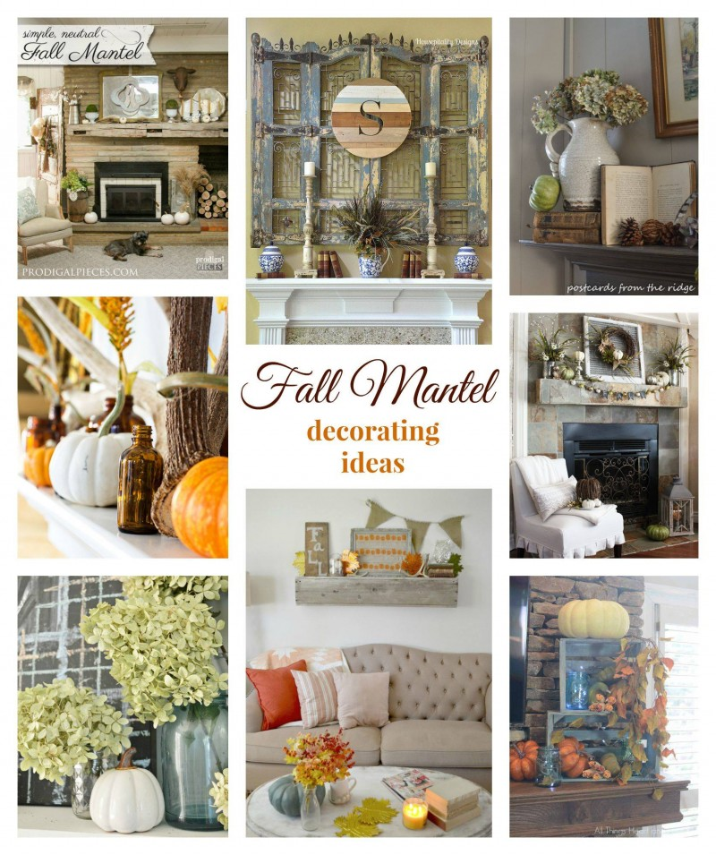 Fall Fireplace Mantel Ideas To Spark Your Autumn Home Decorating