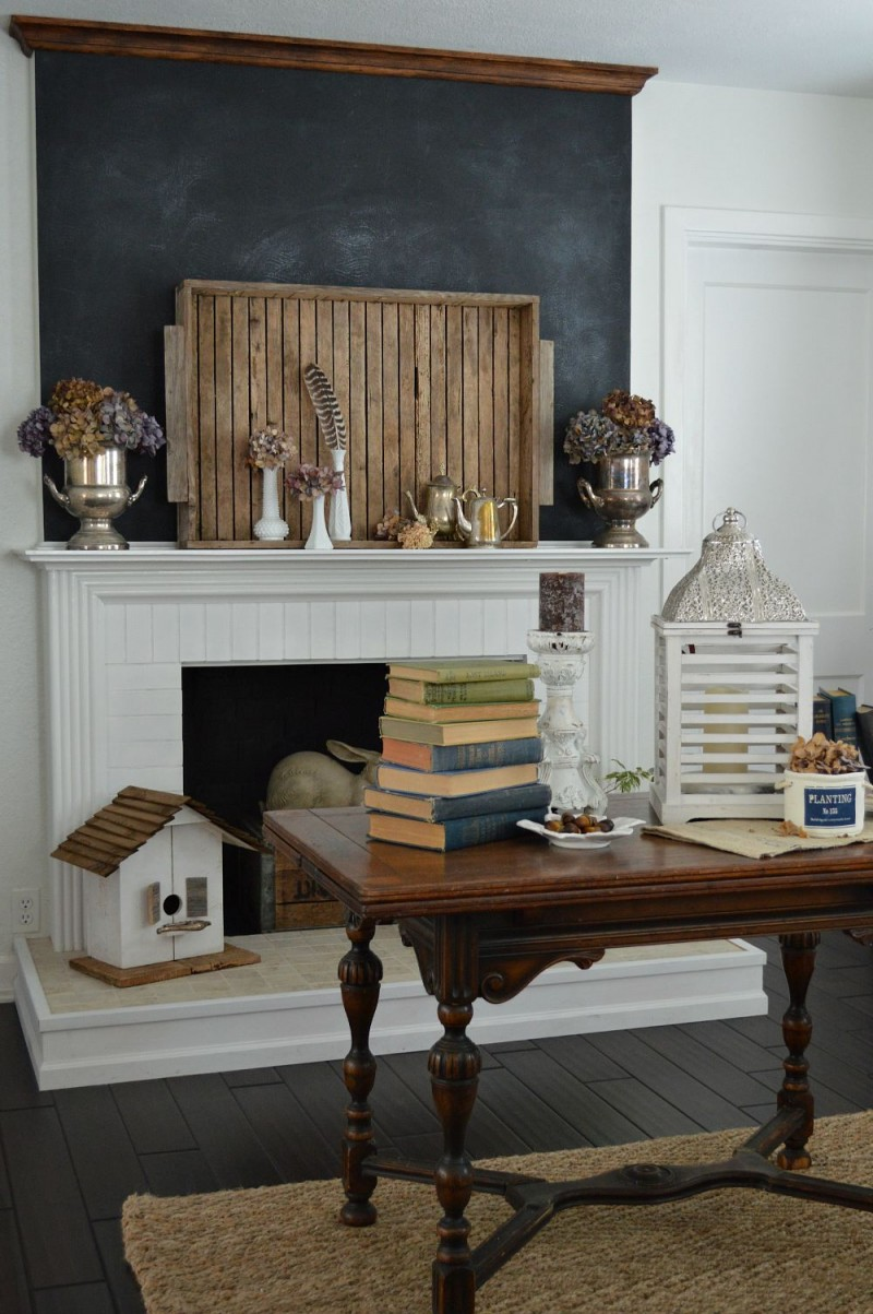 a flutter of fall home decorating fox hollow cottage