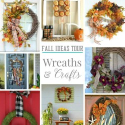 fall ideas tour wreaths and crafts