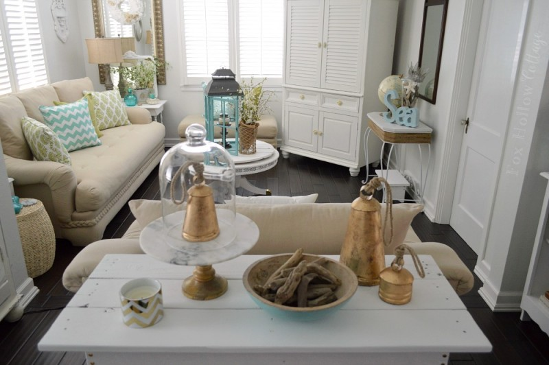 beach chic coastal home decorating on a budget at