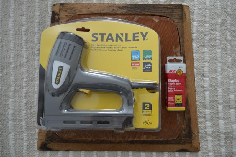 Stanley Electric Plug In Staple Gun Staple and Brad Nailer