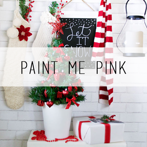Pint Me Pink Holiday Home Tour