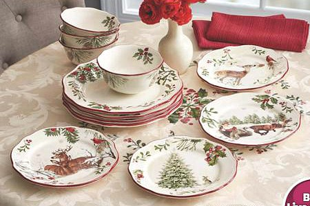 BHG holiday dishes at walmart