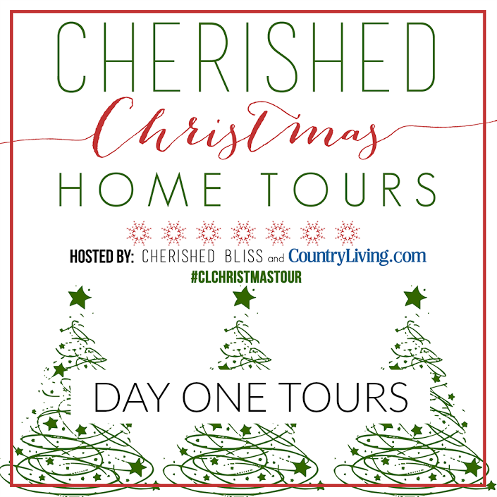 Day One Christmas Home Tours Country Living foxhollowcottage.com