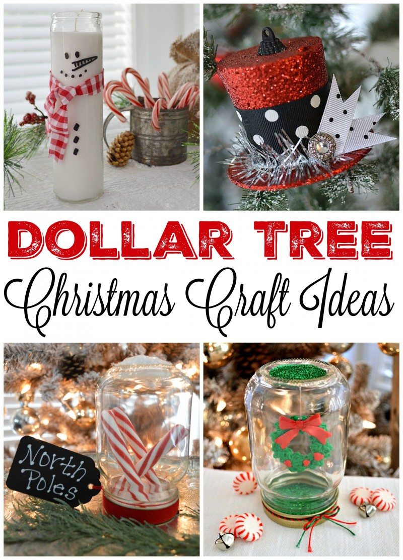 Dollar Tree Budget Christmas Craft and Decorating Ideas ...