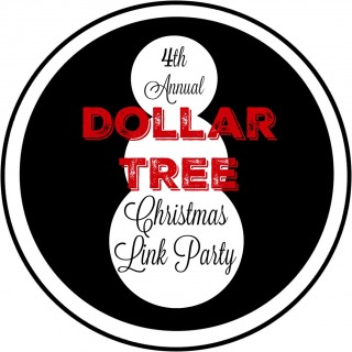 Fourth Annual Dollar Tree Christmas Link Party www.foxhollowcottage.com