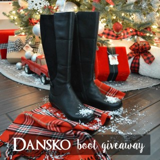 featured image - Dansko Boot Giveaway www.foxhollowcottage.com